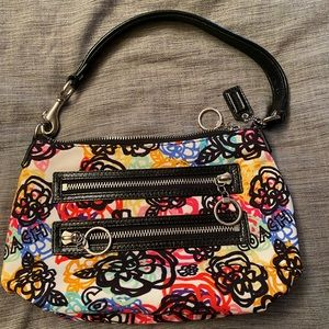 Coach colorful shoulder bag